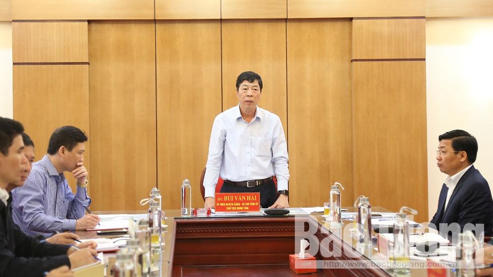 Bí thư Tỉnh ủy Bùi Văn Hải: Xây dựng huyện Hiệp Hòa thành vùng động lực phát triển phía Tây tỉnh Bắc Giang
